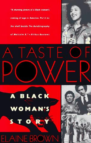 A taste of power by Brown, Elaine