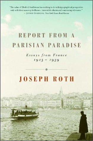 Image 0 of Report from a Parisian Paradise: Essays from France, 1925-1939