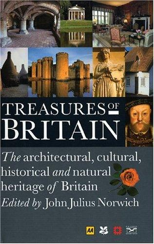 Treasures of Britain by Automobile Association (Great Britain)