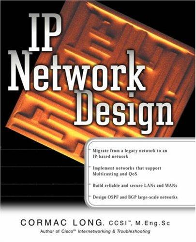 IP Network Design by Cormac S. Long