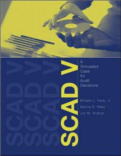 Scad V with User Guide Windows Package by William L. Felix