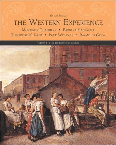 The western experience by Mortimer Chambers