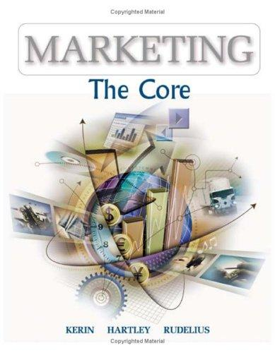 Marketing by Roger A. Kerin, Steven W. Hartley, William Rudelius