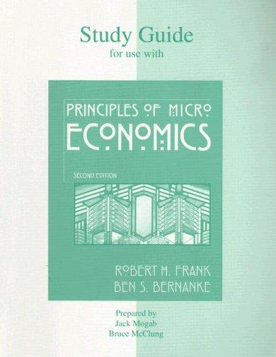 Study Guide t/a Principles of Microeconomics by John Mogab