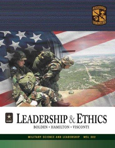 MSL 302 Leadership and Ethics Textbook by ROTC Cadet Command
