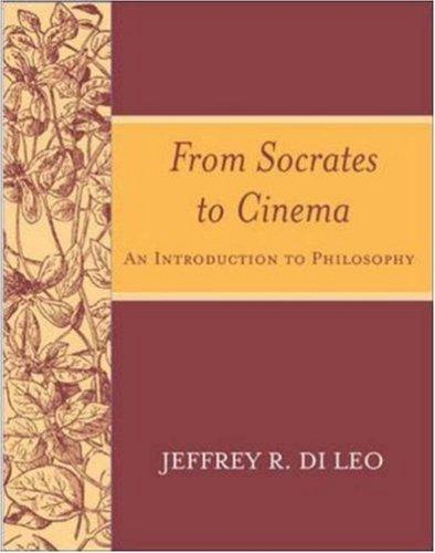 From Socrates to Cinema by Jeffrey  R. Di Leo