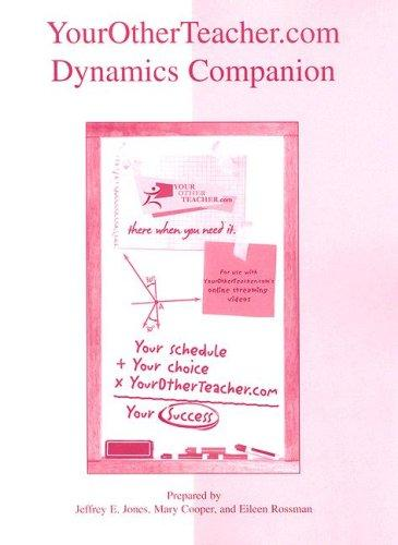 YourOtherTeacher.com Dynamics Companion by Jeff Jones