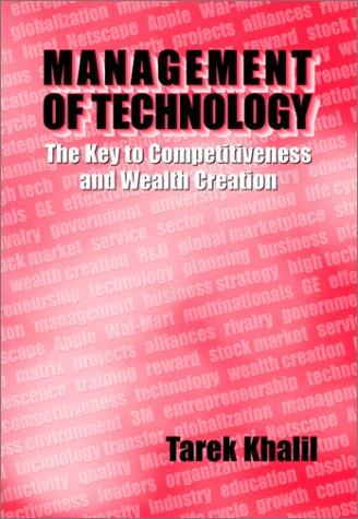 Management of Technology by Tarek M Khalil