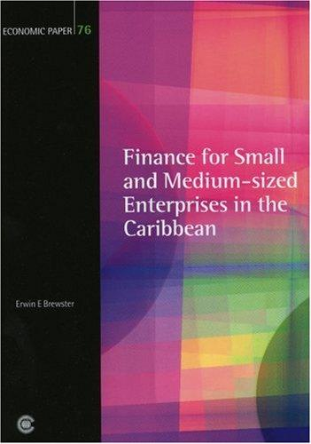 Finance for Small and Medium-sized Enterprises in the Caribbean