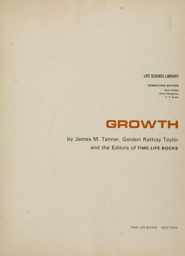 Growth by J. M. Tanner