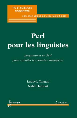 Perl pour les linguistes by Ludovic Tanguy