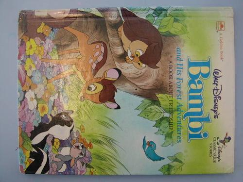 Walt Disney's Bambi and His Forest Adventures by Golden Books
