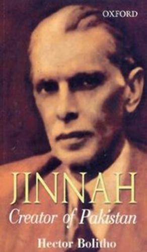 Jinnah by Hector Bolitho