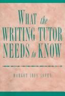 What the writing tutor needs to know