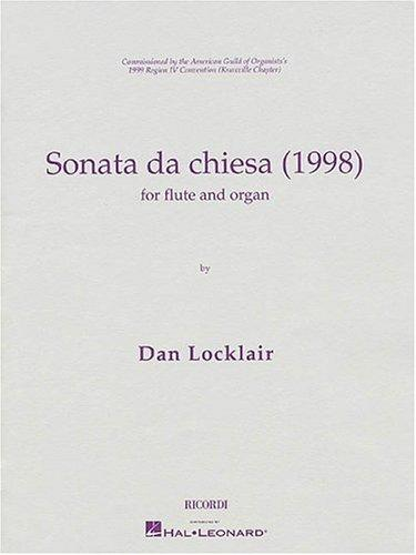 Sonata da Chiesa (1998) by Dan Locklair