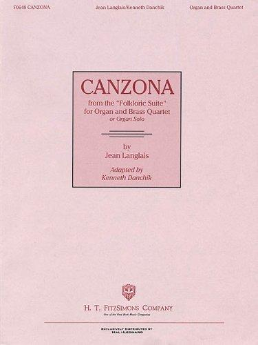 "Canzona (from the ""Folkloric Suite"") by Kenneth Danchik"