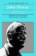 The later works, 1925-1953 by John Dewey