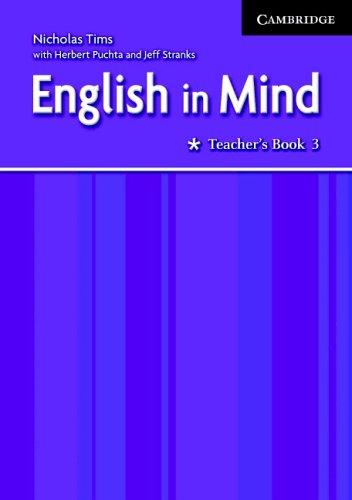 English in Mind 3 Teacher's Book by Nicholas Tims, Herbert Puchta, Jeffrey Stranks