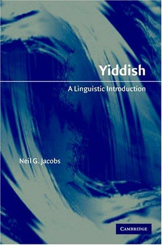Yiddish by Neil G. Jacobs