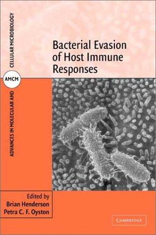 Bacterial evasion of host immune responses by
