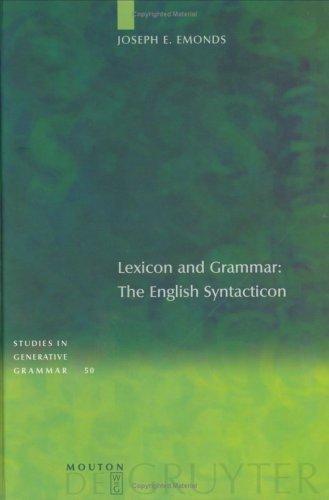 Lexicon and Grammar