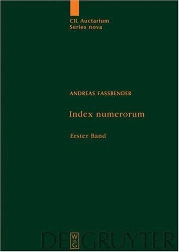 Index Numerum by Andreas Fassbender