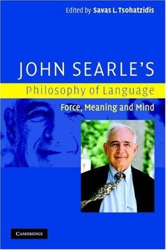 John Searle's Philosophy of Language