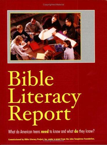 Bible Literacy Report by Marie Wachlin