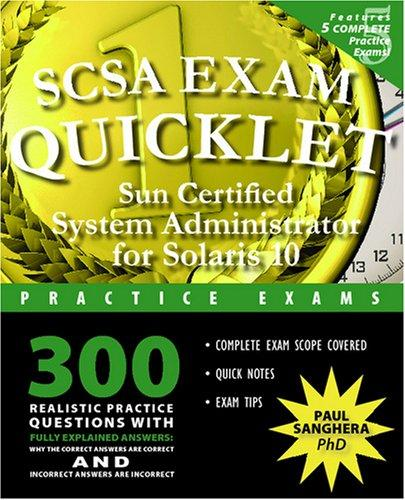 SCSA Exam Quicklet by Paul Sanghera