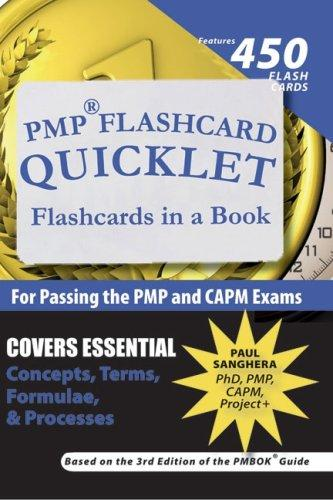 PMP Flashcard Quicklet by Paul Sanghera