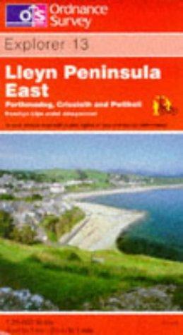Lleyn Peninsula East – Porthmadog, Criccieth and Pwllheli (Explorer Maps)