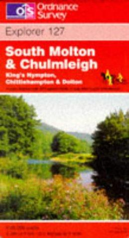 South Molton and Chulmleigh, King's Nympton, Crittlehampton and Doiton (Explorer Maps)