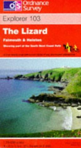 The Lizard, Falmouth and Helston (Explorer Maps)