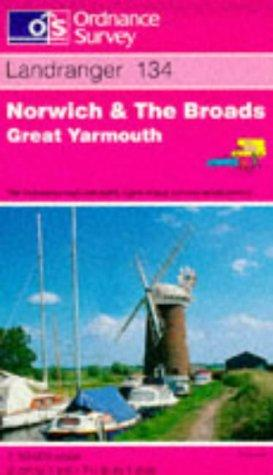 Norwich and the Broads, Great Yarmouth (Landranger Maps)