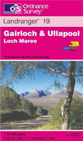 Gairloch and Ullapool, Loch Maree (Landranger Maps)