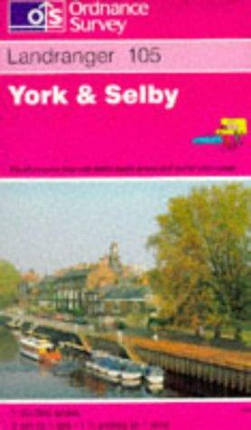 York and Selby (Landranger Maps)