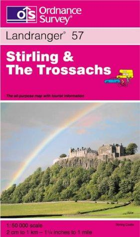 Stirling and the Trossachs (Landranger Maps)