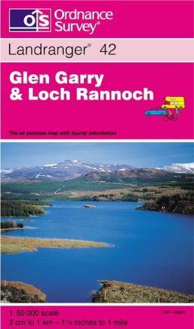 Glen Garry and Loch Rannoch (Landranger Maps)
