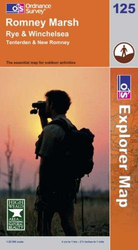 Romney Marsh, Rye and Winchelsea (Explorer Maps)