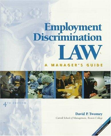 Employment discrimination law