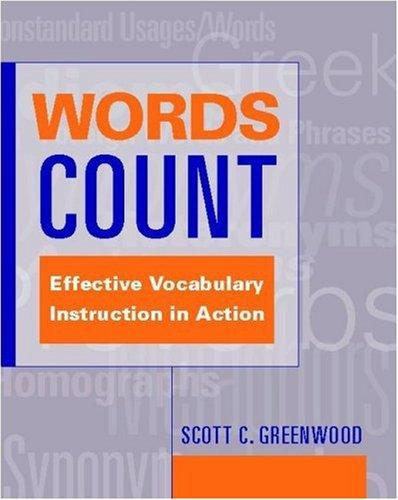 Words Count by Scott C. Greenwood