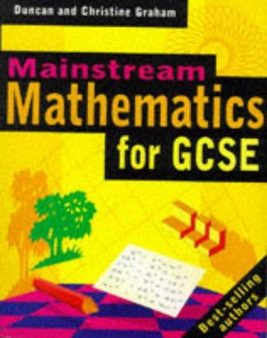 Mainstream Mathematics for Key Stage 4 by Duncan Graham