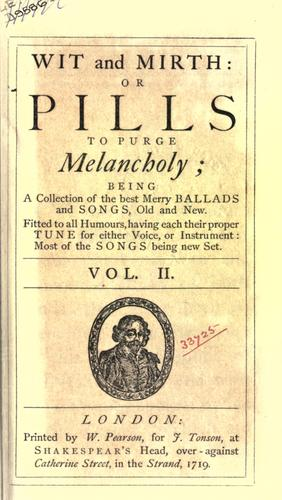 Songs compleat, pleasant and divertive, set to musick by Thomas D'Urfey