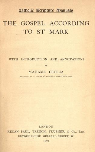 Catholic scripture manuals by