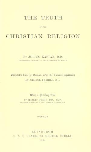 De veritate religionis Christianae by Hugo Grotius