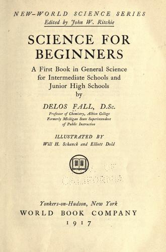 Science for beginners by Falls, Delos