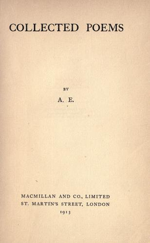 Collected poems by George William Russell