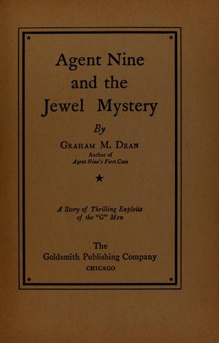 Agent Nine and the jewel mystery by Graham M. Dean