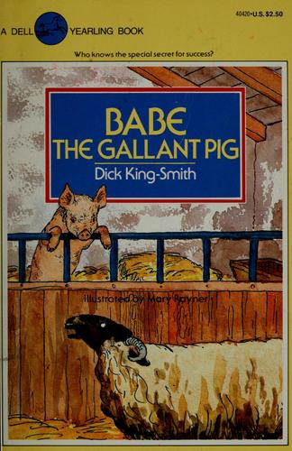 Babe the Gallant Pig by Jean Little