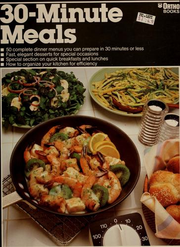30-minute meals by Susan E. Mitchell